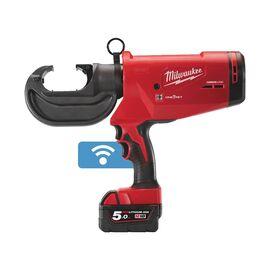 Аккумуляторный гидравлический инструмент для опрессовки кабеля Milwaukee M18 ONE-KEY™ FORCE LOGIC™ HCCT109-42-522C - 4933459273, фото
