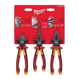 Набор ручного инструмента Milwaukee VDE 3 PIECE PLIER SET - 4932464575, фото