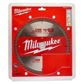 Пильный диск по дереву Milwaukee CircS 254 x 30 x 2.4 60T для торцовочной пилы - 4932451728, фото