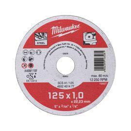 Тонкий отрезной диск по металлу Milwaukee SCS-41 125x1 MM 50 PCS - 4932451477, фото