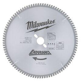 Пильный диск по дереву Milwaukee WCSB 305 x 30 x 3.2 100T для торцовочной пилы - 4932352142, фото