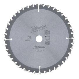 Пильный диск по дереву Milwaukee WNF 165 x 15.87 x 1.6 40T для аккумуляторной циркулярной пилы - 4932352314, фото