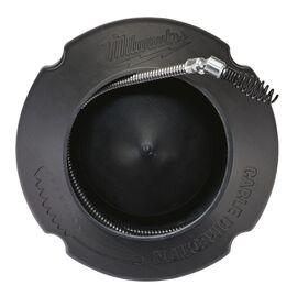 Трос с шарнирным грушевидным наконечником для прочистки канализации с барабаном Milwaukee 6 MM X 7.6 M SPIRAL PIVOT BULB AUGER w DRUM - 48532584, фото