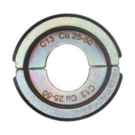 Сменная матрица для опрессовки медных кабельных наконечников и соединительных гильз Milwaukee C13 CU 25-50 - 4932459532, фото