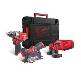 Набор инструмента Milwaukee M12 FPP2F-402X - 4933471681, фото