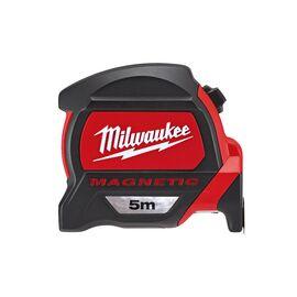 Рулетка с магнитом Milwaukee PREMIUM MAGNETIC 5m - 48227305, фото