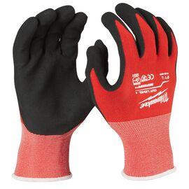 Перчатки с защитой от порезов Milwaukee CUT LEVEL 1 GLOVES SIZE L - 4932471417, Вариант модели: L, фото