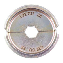 Сменная матрица для опрессовки медных кабельных наконечников и коннекторов Milwaukee L22 CU 35 - 4932464489, фото
