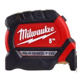 Рулетка с магнитом Milwaukee PREMIUM MAGNETIC GEN III 5m - 4932464599, фото