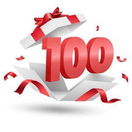 Подарочный сертификат Milwaukee 100, Вариант модели: 100, фото