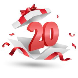 Подарочный сертификат Milwaukee 20, Вариант модели: 20, фото