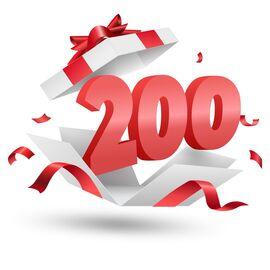 Подарочный сертификат Milwaukee 200, Вариант модели: 200, фото