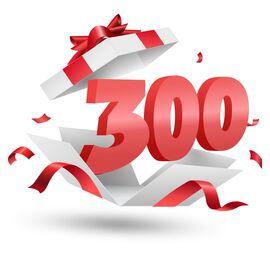 Подарочный сертификат Milwaukee 300, Вариант модели: 300, фото