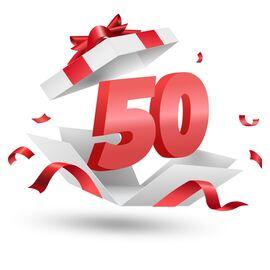 Подарочный сертификат Milwaukee 50, Вариант модели: 50, фото