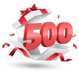 Подарочный сертификат Milwaukee 500, Вариант модели: 500, фото