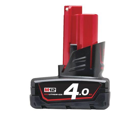Купить Аккумулятор Milwaukee M12 B4 - 4932430065, 1 на официальном сайте Milwaukee redtool.by (milwaukeetool.by)