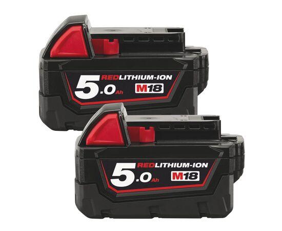 Комплект аккумуляторов Milwaukee M18 B52 2PCS - 4932451242, фото
