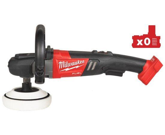 Аккумуляторная полировальная машина Milwaukee M18 FAP180-0 - 4933451549, Вариант модели: M18 FAP180-0, фото