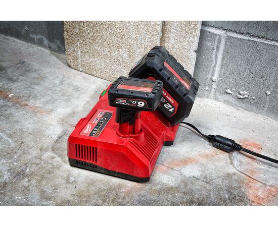 Сверхбыстрое зарядное устройство Milwaukee M12-18SC - 4932471735, фото , изображение 5