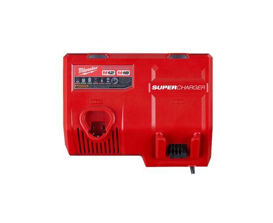 Сверхбыстрое зарядное устройство Milwaukee M12-18SC - 4932471735, фото , изображение 2