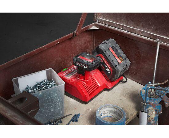 Сверхбыстрое зарядное устройство Milwaukee M12-18SC - 4932471736, фото , изображение 4