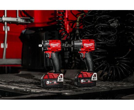 Аккумуляторный импульсный гайковерт Milwaukee M18 FIW2F12-502X - 4933478445, фото , изображение 8
