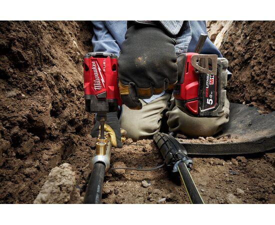 Аккумуляторный импульсный гайковерт Milwaukee M18 FIW2F12-502X - 4933478445, фото , изображение 11
