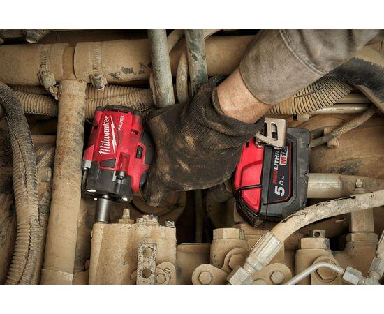 Аккумуляторный импульсный гайковерт Milwaukee M18 FIW2F12-502X - 4933478445, фото , изображение 13