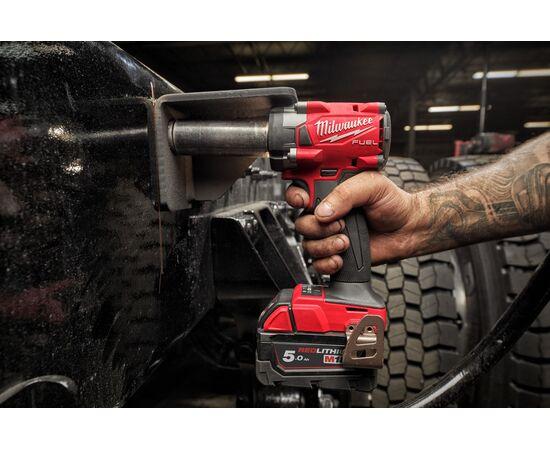 Аккумуляторный импульсный гайковерт Milwaukee M18 FIW2F38-502X - 4933478652, фото , изображение 8