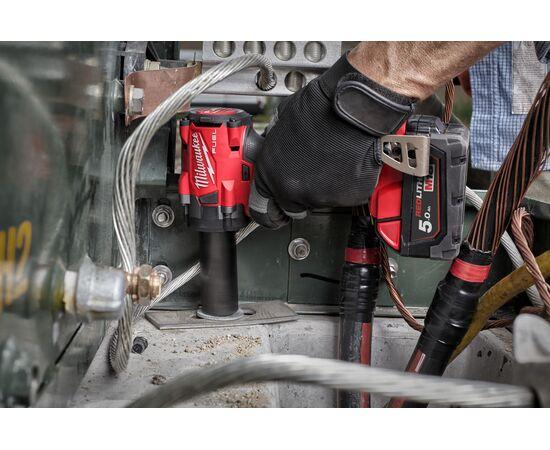 Аккумуляторный импульсный гайковерт Milwaukee M18 FIW2F38-502X - 4933478652, фото , изображение 9