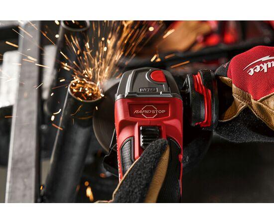 Аккумуляторная углошлифовальная машина Milwaukee M18 FSAG125XB-502X - 4933478430, Вариант модели: M18 FSAG125XB-502X, фото , изображение 10