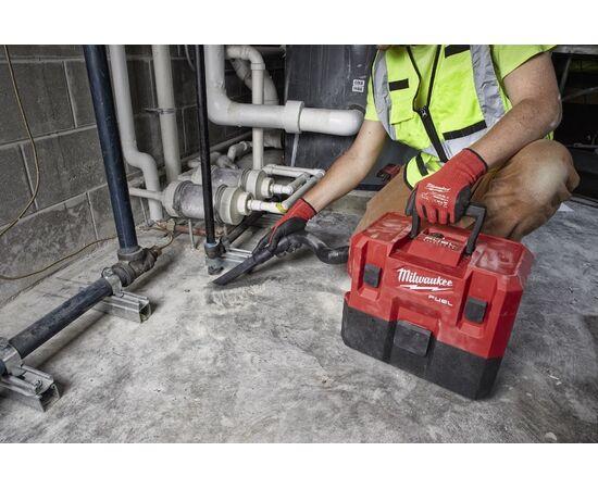 Пылесос для воды и сухого мусора Milwaukee M12 FVCL-0 - 4933478186, фото , изображение 9