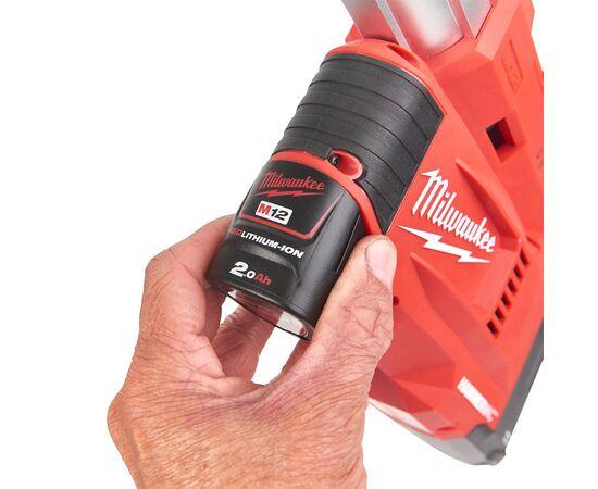 Универсальная насадка для пылеудаления класса L Milwaukee M12™ UDEL-201B - 4933471462, фото , изображение 15