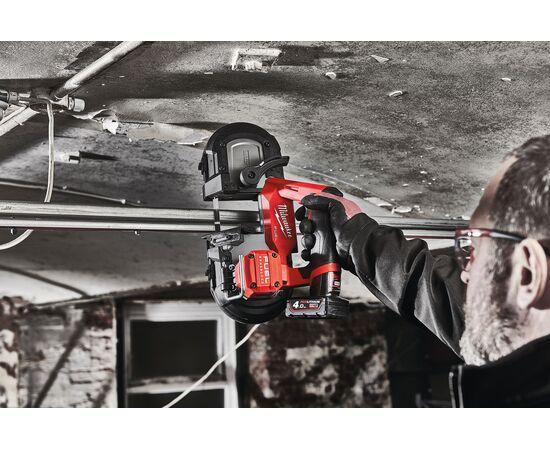 Аккумуляторная ленточная пила Milwaukee M12 FBS64-402C - 4933478441, Вариант модели: M12 FBS64-402C, фото , изображение 3
