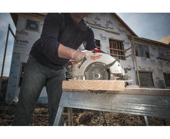 Аккумуляторная циркулярная пила по дереву и пластику Milwaukee M18 BLCS66-502X - 4933464591, фото , изображение 6