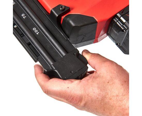 Аккумуляторный гвоздезабиватель Milwaukee M18 CN18GS-0X - 4933451959, Вариант модели: M18 CN18GS-0X, фото , изображение 9