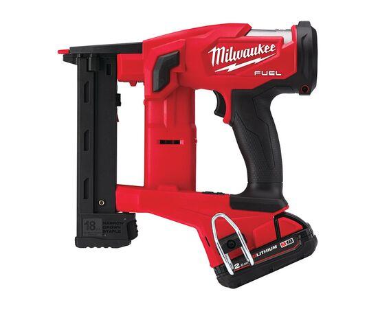 Аккумуляторный степлер Milwaukee M18 FNCS18GS-202X - 4933471940, Вариант модели: M18 FNCS18GS-202X, фото