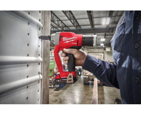 Аккумуляторный заклепочник Milwaukee M18 ONEFPRT-202X - 4933478603, фото , изображение 3
