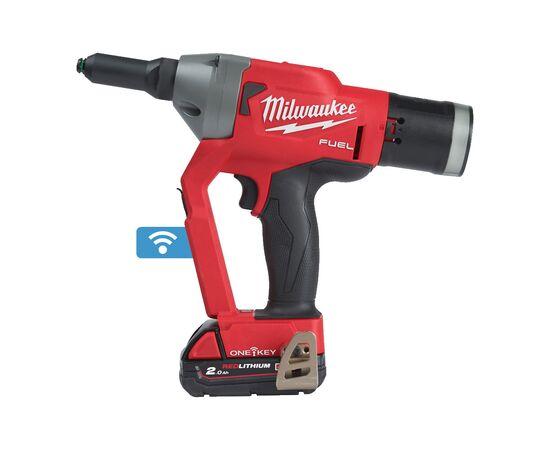 Аккумуляторный заклепочник Milwaukee M18 ONEFPRT-202X - 4933478603, фото
