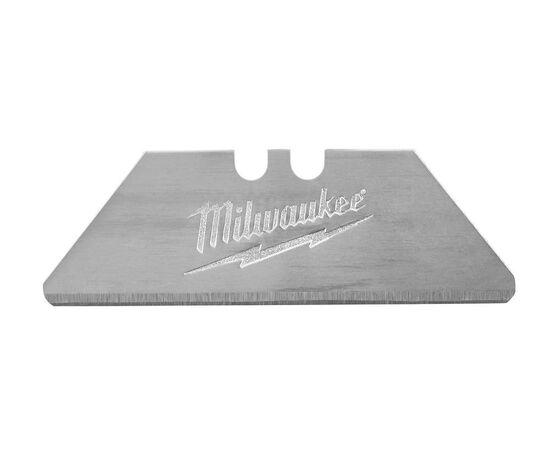 Сменное закругленное лезвие для резки картона Milwaukee CARTON UTILITY KNIFE BLADES 19 MM 5pcs - 48221934, фото