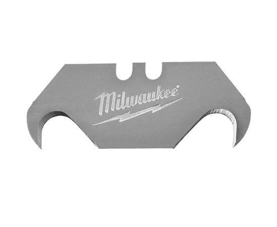 Сменное крюкообразное лезвие Milwaukee HOOK UTILITY KNIFE BLADES 19 MM 50pcs - 48221952, фото