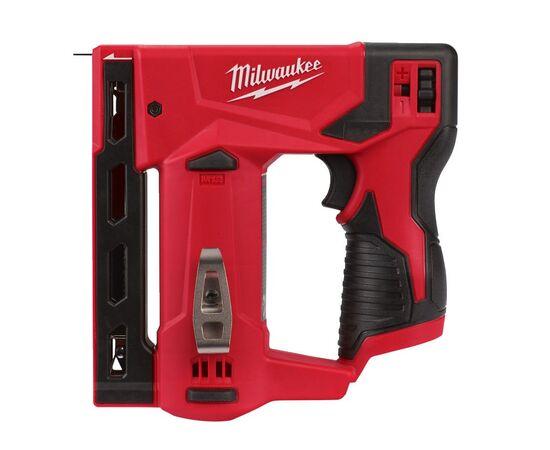 Аккумуляторный степлер Milwaukee M12 BST-0 - 4933459634, Вариант модели: M12 BST-0, фото