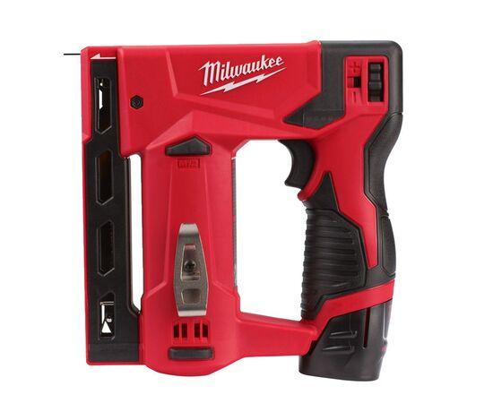 Аккумуляторный степлер Milwaukee M12 BST-202X - 4933459635, Вариант модели: M12 BST-202X, фото