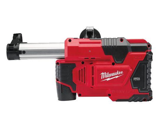 Универсальная аккумуляторная система пылеудаления для перфораторов Milwaukee M12 DE-201C - 4933440500, Вариант модели: M12 DE-201C, фото