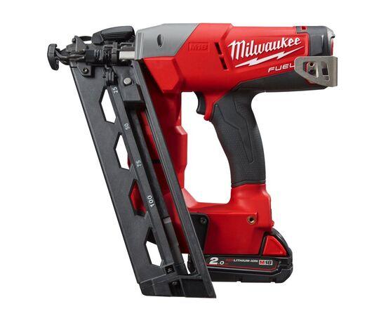 Аккумуляторный гвоздезабиватель Milwaukee M18 CN16GA-202X - 4933451570, Вариант модели: M18 CN16GA-202X, фото