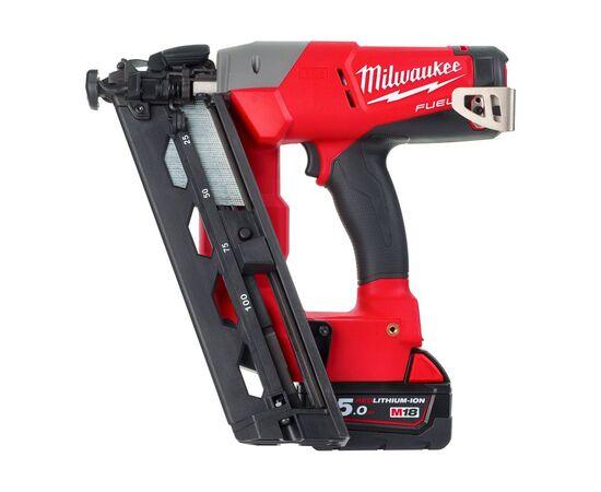 Аккумуляторный гвоздезабиватель Milwaukee M18 CN16GA-502X - 4933451888, фото