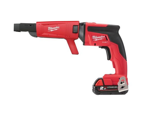 Аккумуляторный шуруповерт для гипсокартона с магазином Milwaukee M18 FSGC-202X - 4933459199, Вариант модели: M18 FSGC-202X, фото