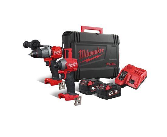 Набор инструмента Milwaukee M18 FUEL FPP2A2-502X - 4933464268, фото