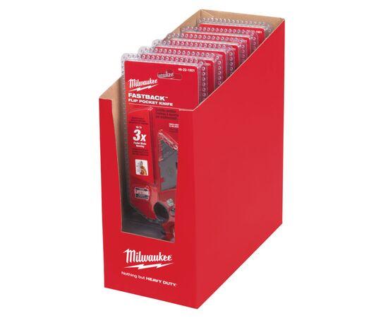 Набор сменных лезвий Milwaukee DISPLAY FASTBACK™ KNIFE CD-6pcs - 4932352622, фото