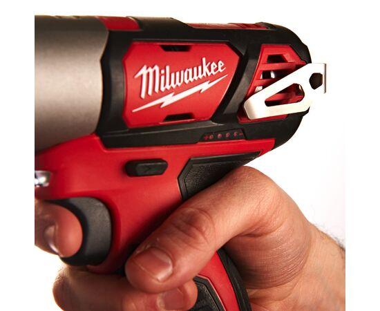 Аккумуляторный импульсный винтоверт Milwaukee M12 BID-202C - 4933443895, фото , изображение 6
